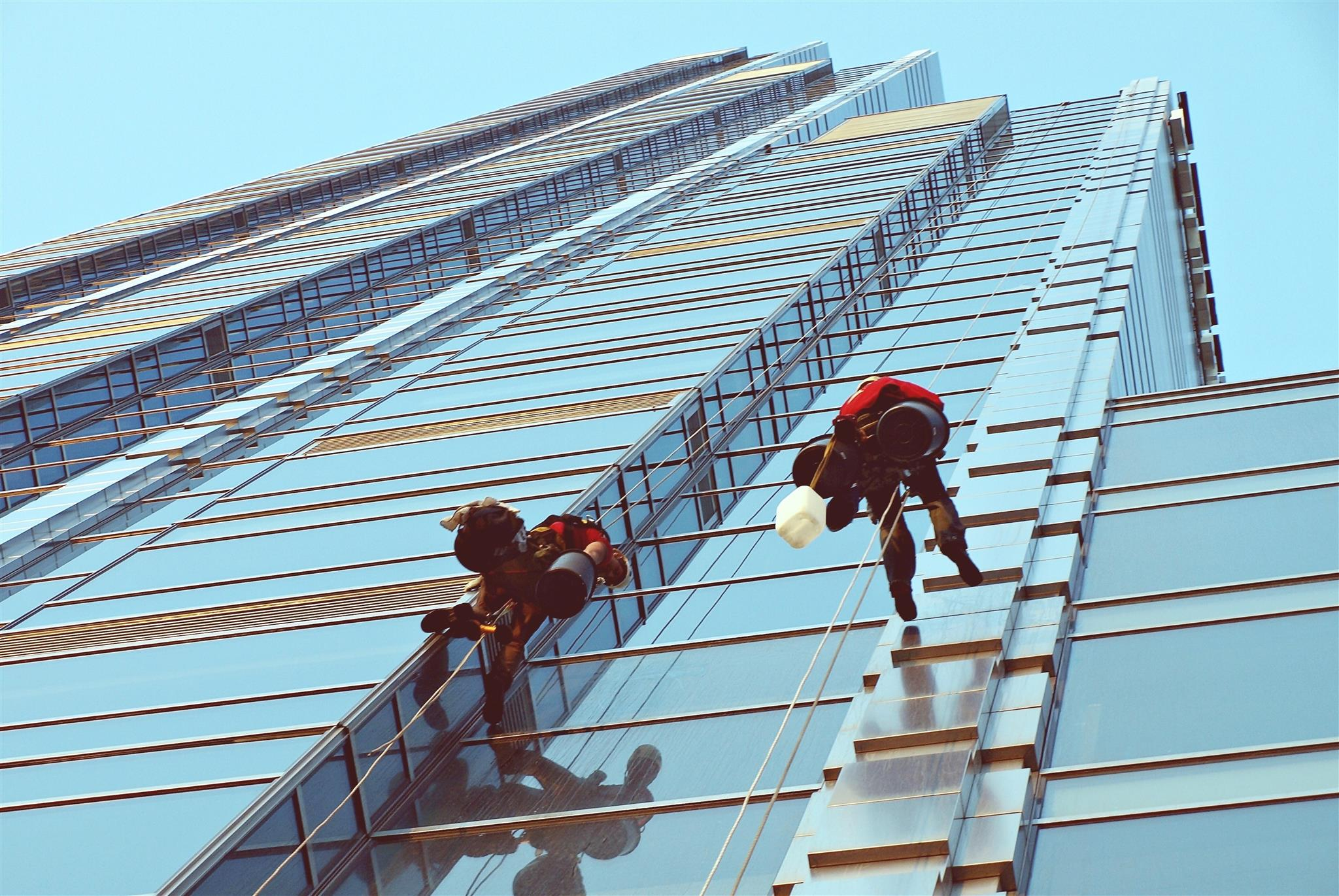 external building cleaning Dubai